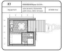 Projet de Kaell Architecte pour le pavillon à Bergem ((Illustration: Kaell Architecte))