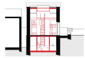Projet de Tetra Kayser Associés pour le pavillon à Tétange. ((Illustration: Tetra Kayser Associés))