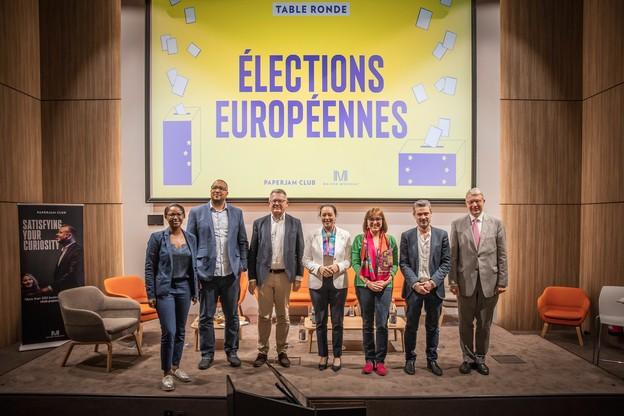 Les représentants de sept partis luxembourgeois ont participé à un débat organisé par Paperjam. (Photo: Jan Hanrion/Maison Moderne)
