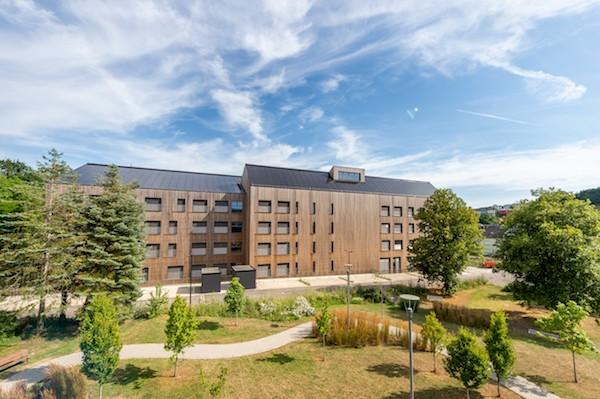 Le Lycée technique à Ettelbruck a été récompensé dans la catégorie Grand Prix Construction Durable. (Photo : Marie de Decker)