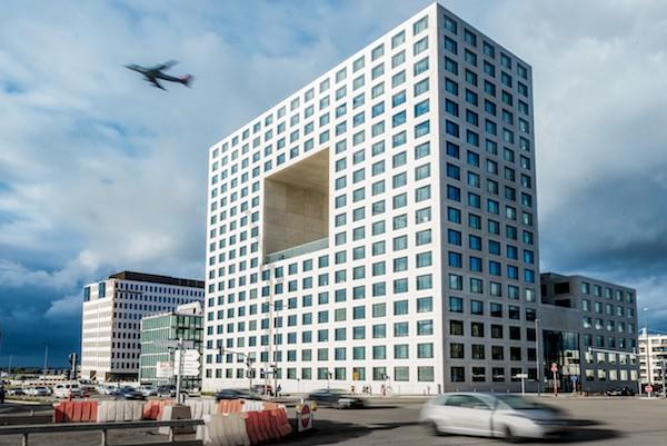 L'immeuble D.Square à la Cloche d'Or a reçu le Prix du public (Photo: Marie De Decker)
