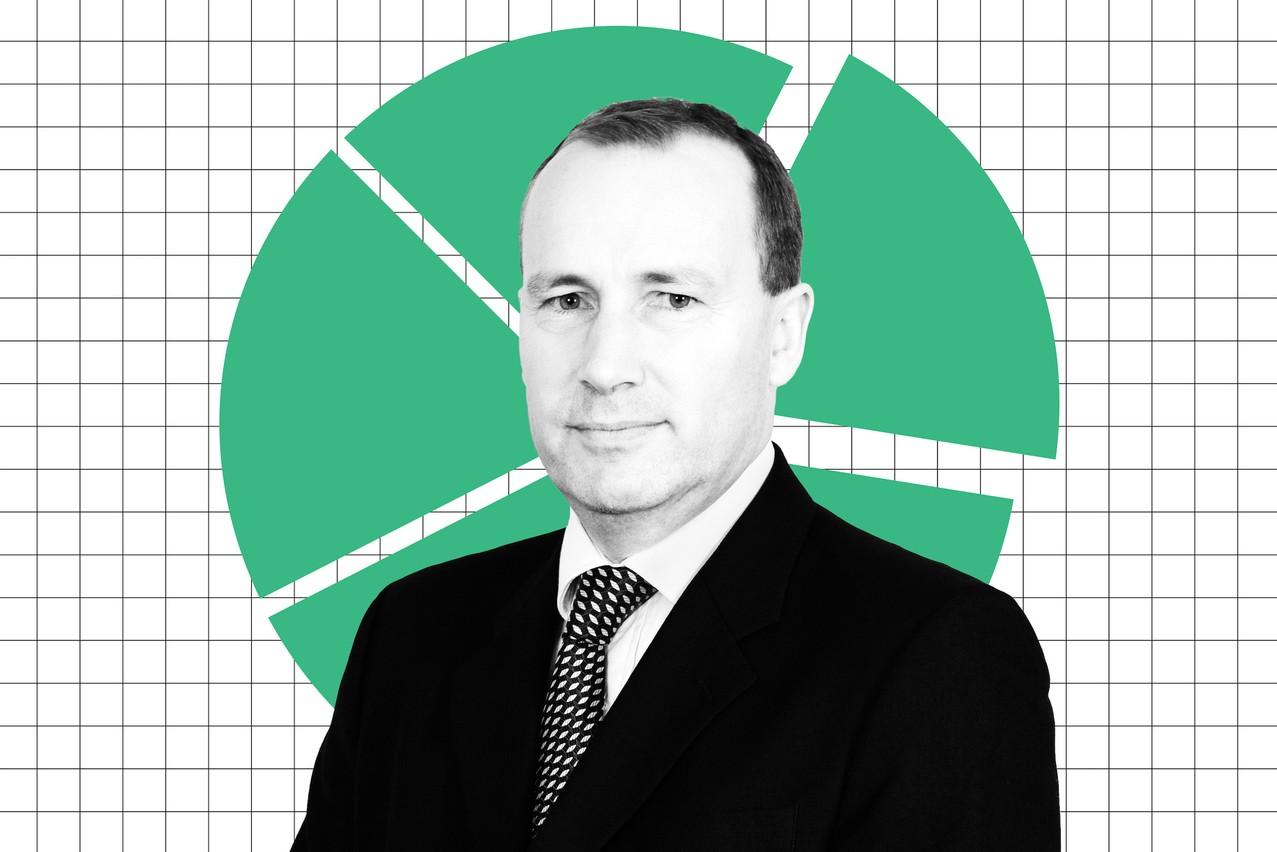 William Davies, CIO EMEA chez Columbia Threadneedle Investments. (Photo: Maison Moderne)