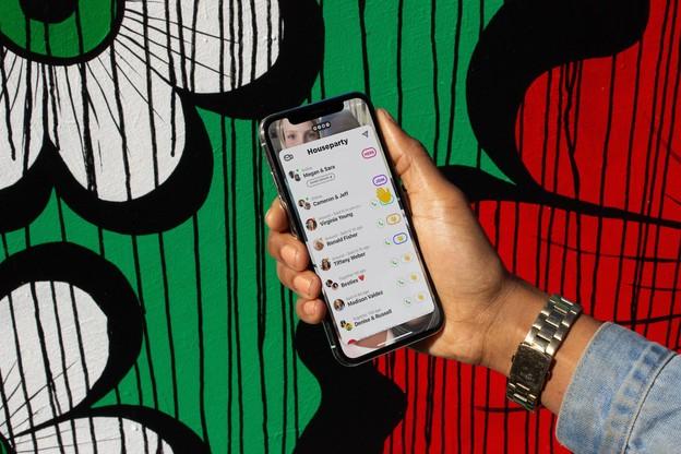 Conçu comme un réseau social uniquement vidéo, Houseparty a ajouté des jeux directement dans l'app et en direct devant ses amis pour pimenter les apéros virtuels. (Photo: Houseparty)