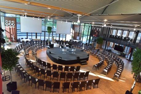 Salle de conférence de Mondorf Domaine Thermal. (Photo: Mondorf Domaine Thermal)