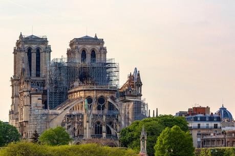 L'entreprise néerlandaiseConcr3de a proposé de restaurer la cathédrale Notre-Dame avec des imprimantes 3D. (Photo: Shutterstock)