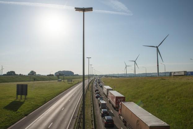 circulation à la frontière avec la belgique (Photo: Anthony Dehez / Archives)