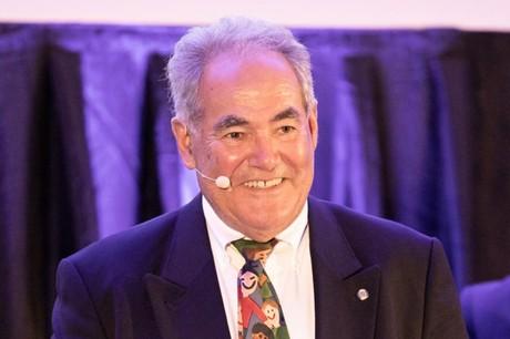 Norbert Friob lors du Club Talk organisé en son honneur par le Paperjam Club le 26 avril 2019. (Photo: Jan Hanrion/Maison Moderne/Archives)