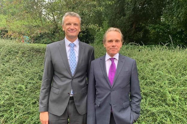 Alain Grosjean, secrétaire général de l'UIA, et François Prum, président du 63e congrès, s'affairent depuis plus de 18 mois. (Photo: Paperjam)