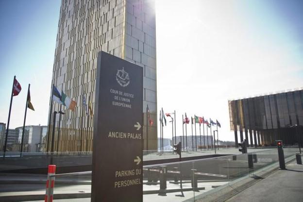 La CJUE travaille sur un renforcement des mesures de sécurité qui seront pleinement déployées lors de l'ouverture officielle de la troisième tour à la fin de l'été. (Photo: Benjamin Champenois / Archives / Maison Moderne)