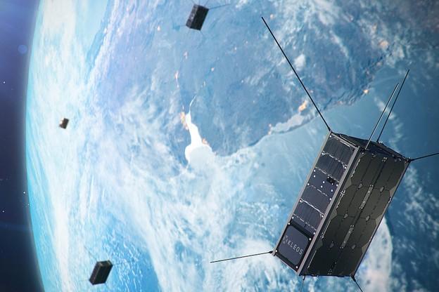 Les quatre premiers nanosatellites de Kleos ont été acheminés en vue de leur lancement au premier trimestre. (Photo: Kleos)