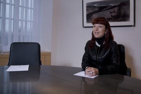 Françoise Thoma se montre confiante pour l'activité commerciale en 2019. (Photo: Maison Moderne/archives)