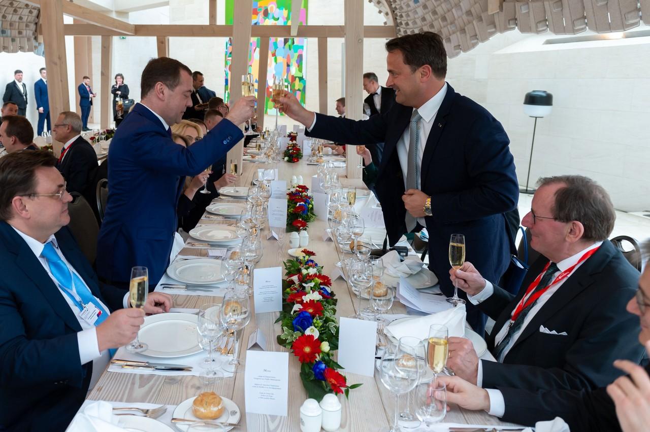 Plus que jamais, l'entente est cordiale entre le Luxembourg et la Russie. Deux pays qui vont multiplier les collaborations. (Photo: Emmanuel Claude/SIP)