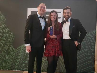 Lendinvest, qui était retenue dans deux catégories, a remporté celle des fonds alternatifs, mercredi soir à Londres. (Photo: Lendinvest/Refi)