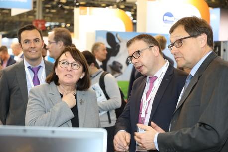 Son Excellence Martine Schommer, ambassadeur du Luxembourg en France. (Photo:Maëlenn de Coatpont)