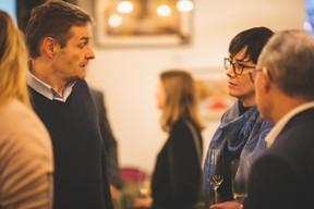 Raphaël Boulanger (Chai des Crus) et Charlotte Pellissier Tanon (Boulangerie Paul) ((Photo: Arthur Ranzy))