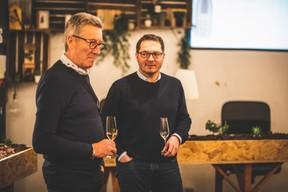 Didier T'Kint (BFED) et François Henryon (CRH-Lux) ((Photo: Arthur Ranzy))