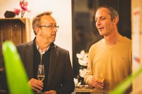 Michel Baltus (MIXvoip) et Antoine Berghen (Paladium) ((Photo: Arthur Ranzy))
