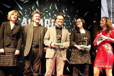 En 2012, Yellow.lu rafle trois RTL Media Awards avec ses imitations cultes. (Photo: Linc)