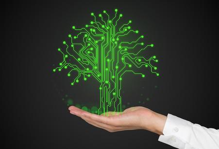 Illustration de l'IoT durable. ©denisismagilov