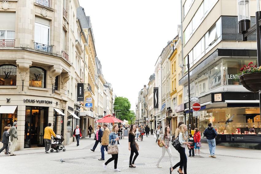 La Ville de Luxembourg, comme Esch-sur-Alzette et Dudelange, a indiqué renoncer à réclamer les loyers aux commerces et restaurants durant la crise sanitaire. (Photo : David Laurent/archives/Maison Moderne)