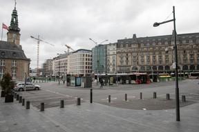 Le service des bus de la Ville de Luxembourg a été adapté au minimum en raison des consignes et pour éviter les rassemblements de personnes en milieu confiné. ((Photo: Matic Zorman))