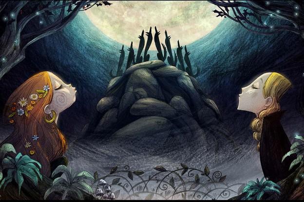 «Wolfwalkers» est un film d'animation autour duquel un atelier sur les décors sera mené. (Illustration :Cartoon Saloon, Melusine Productions)