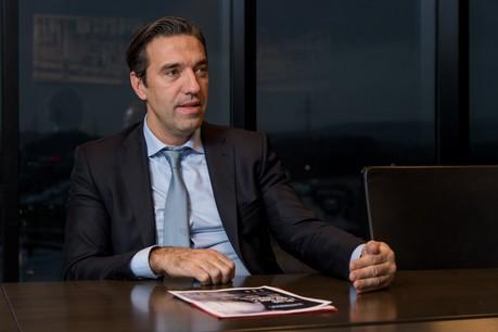 Gilles Gérard, CEO de Luxlait, s'inquiète pour l'avenir de ses producteurs face à la crise. (Photo: Nader Ghavami / archives Maison Moderne)
