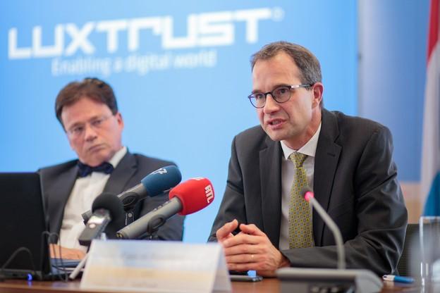 Bonne nouvelle pour la société que Pascal Rogiest dirige: Luxtrust a été repérée par Gartner au milieu d'une petite trentaine de spécialistes de l'identité numérique. (Photo: Paperjam)