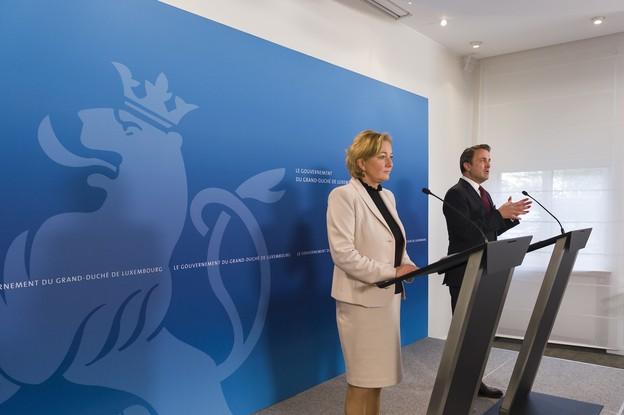 La ministre de la Santé et le Premier ministre ont dressé un nouveau bilan ce vendredi: 2.612 cas confirmés et 31 décès au Luxembourg. (Photo: SIP)