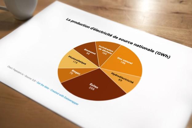 Le Luxembourg voit lentement progresser la production d'électricité de sources renouvelables. (Visuel: Maison Moderne)