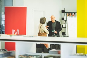 Cécile Schauer (Aimer travailler) et Lotfi Ben Lagha (Tailored Strategy Consultant) ((Photo: Arthur Ranzy))