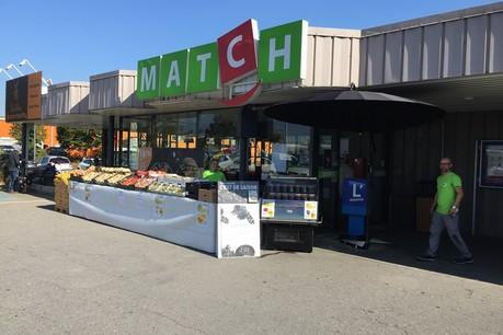 Le«plan de transformation» réalisé en Belgique ne concerne pas les 28 magasins luxembourgeois. (Photo: @SupermarchesMatch.lu / Facebook)