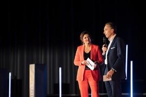 Nathalie Reuter et Hugues Delcourt (Kneip) ((Photo: Jan Hanrion & Patricia Pitsch / Maison Moderne))