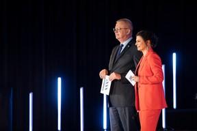 Pierre Kihn (Office Freylinger) et Nathalie Reuter ((Photo: Jan Hanrion & Patricia Pitsch / Maison Moderne))