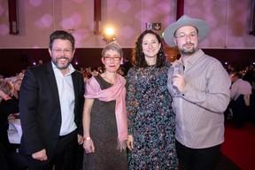 Nicolas Henckes (CLC), Anne-Claire Delval (Deep.lu), Marie-Adélaïde Leclercq (Arendt & Medernach) et Fabien Rodrigues (Maison Moderne) ((Photo: Jan Hanrion & Patricia Pitsch / Maison Moderne))
