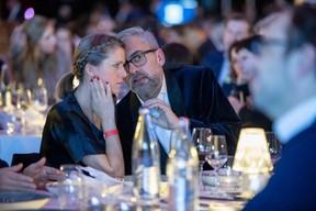 Mike Koedinger (Maison Moderne) et Marianne Grisse ((Photo: Jan Hanrion & Patricia Pitsch / Maison Moderne))
