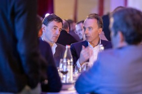 Daniel Schneider (Tenzing Partners) et Hugues Delcourt (Kneip) ((Photo: Jan Hanrion & Patricia Pitsch / Maison Moderne))