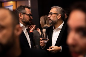 Marc Sniukas (Deloitte) et Mike Koedinger (Maison Moderne) ((Photo: Patricia Pitsch/Maison Moderne))