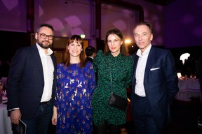 Marc Sniukas (Deloitte), Magali Larese (Maison Moderne), Christine Jacquet (RTL) et Hugues Delcourt (Kneip) ((Photo: Patricia Pitsch/Maison Moderne))