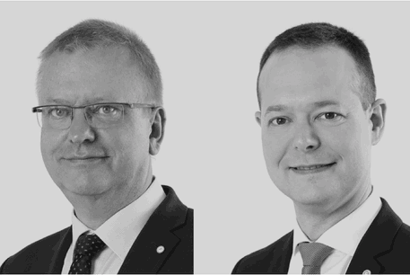 Pierre Kihn&Olivier Laidebeur: «Au-delà de la simple protection des droits de nos clients, nous les accompagnons tout au long de leur projet, en intégrant également les contrats et la valorisation financière de leurs droits dans nos réflexions.» (Photo: Office Freylinger)
