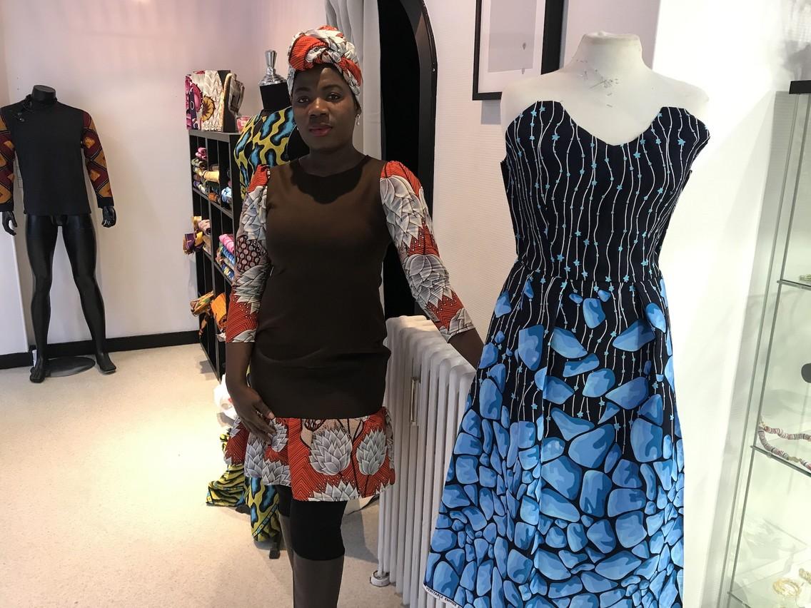 Élodie Dja s'inspire de la mode européenne pour ses propres collections. (Photo: DR)