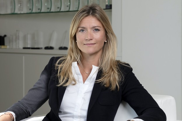 Kelly Hebert, country head Belux, M&G Investments. (Photo: Stéphane Durieu pour M&G Investments)