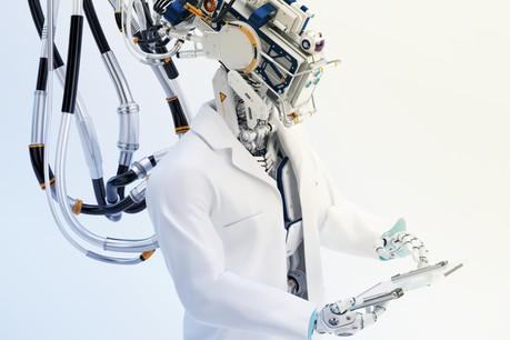 Si on note que l'opération réalisée par un chirurgien va plus vite (1h21 contre 1h55), le temps de guérison est nettement plus rapide lorsque l'opération est réalisée par un robot. (Illustration: Shutterstock)