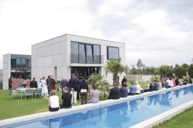 L'ensemble Lucilin et l'architecte François Valentiny vous invitent à une visite musicale dans un univers architectural unique. (Photo:ensemble Lucilin)