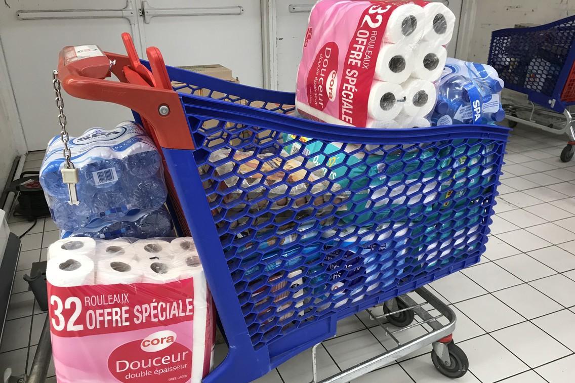 Les stocks de papier toilette. Une image significative d'une crise qui défie parfois les lois de la raison. (Photo: Paperjam)