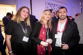 Larissa Thomma (Enjoy Immobilière), Stéphanie Bourhis (Sophrology) et Mikaël Spezzacatena (Maison Moderne) ((Photo: Jan Hanrion/Maison Moderne))