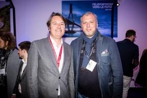 Laurent Goffin (Maison Moderne) et Pietro Marchione (Groupe Marchione) ((Photo: Jan Hanrion/Maison Moderne))