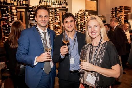 Alessandro Zoino, Antonio Cau et Ulrica Hilmersson (Deutsche Bank Luxembourg) (Photo: Jan Hanrion/Maison Moderne)