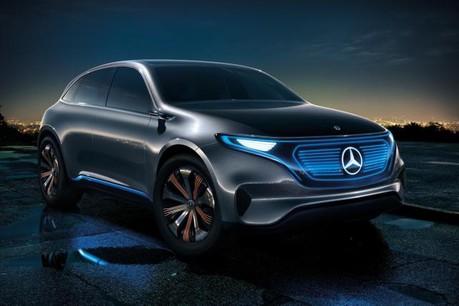 L'usine Smart à Hambach va produire un modèle Mercedes électrique. Ici, le concept EQ de la marque à l'étoile. (Photo : Mercedes-Benz)