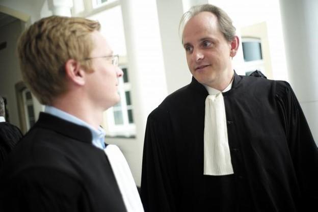 L'avocat Pierre Hurt (à droite) veut pousser l'affaire jusqu'au bout et obtenir une ordonnance de principe pour la liberté de la presse. (Photo: Christophe Olinger / archives)